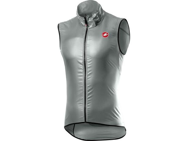 Castelli Aria Vest Men silver/gray